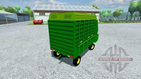 John Deere 714A para Farming Simulator 2013