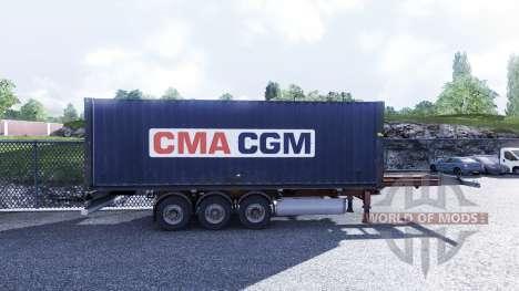 Nuevo color de la carga en contenedores vol.3 para Euro Truck Simulator 2