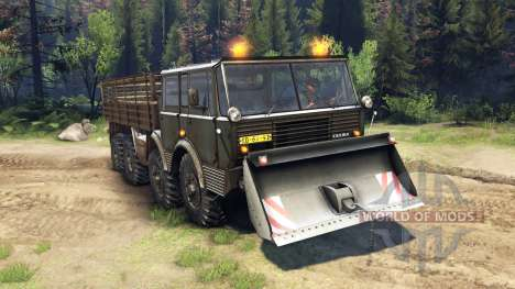 Tatra 813 8x8 KOLOS v1.1 para Spin Tires