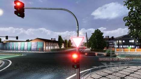 Ruso señales de carretera para Euro Truck Simulator 2