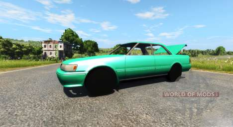 Toyota Chaser 1JZ-GTE para BeamNG Drive