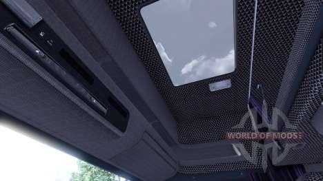 Interior para Scania-Cuero- para Euro Truck Simulator 2