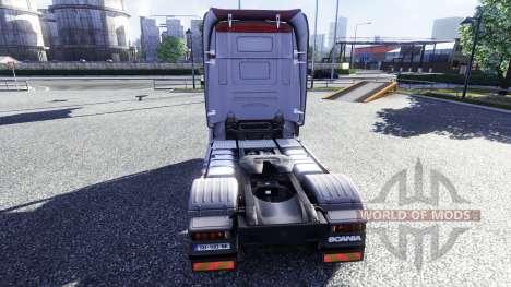 Color-R500 - camión Scania para Euro Truck Simulator 2