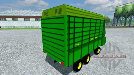 John Deere 716A para Farming Simulator 2013