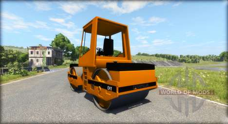Asfalto rodillo Caterpillar para BeamNG Drive