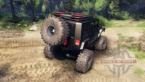 Jeep Wrangler Unlimited SID Nowhere para Spin Tires