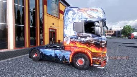 Color de Smokey y el Bandido - camión Scania para Euro Truck Simulator 2