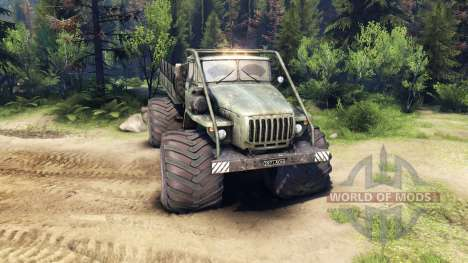 Ural-4320 Explorador Polar v1.2 para Spin Tires