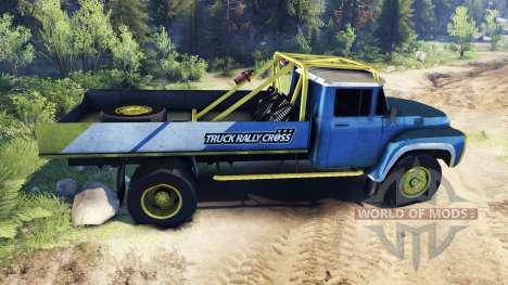 ЗиЛ-130 Rallycross para Spin Tires