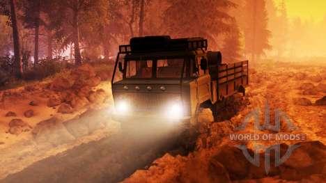 GAZ-66 camión :  para Spin Tires