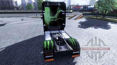 Color-Monster Energy - camión Scania para Euro Truck Simulator 2