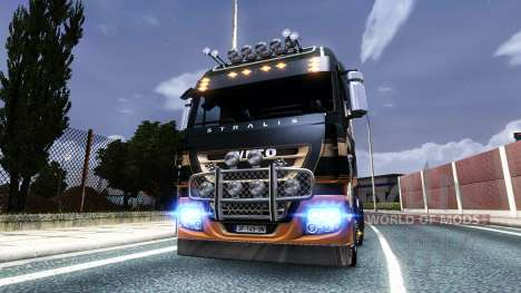 Xenon v4 para Euro Truck Simulator 2