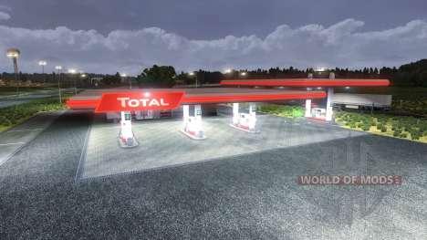 Estaciones Totales para Euro Truck Simulator 2