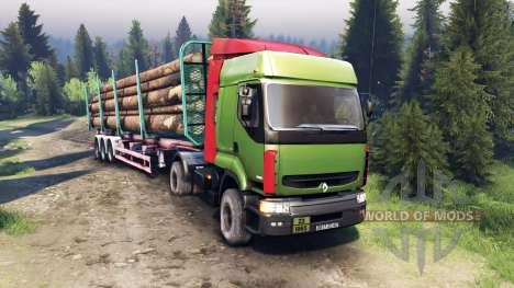 Renault Premium Green para Spin Tires