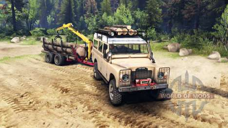 Land Rover Defender Series III v2.2 Sand para Spin Tires