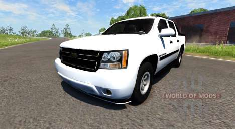 Chevrolet Avalanche para BeamNG Drive