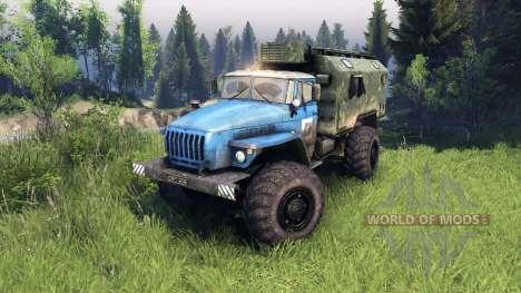 Ural-4320 PTS v1.5 para Spin Tires