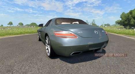 Mercedes-Benz SLS AMG para BeamNG Drive