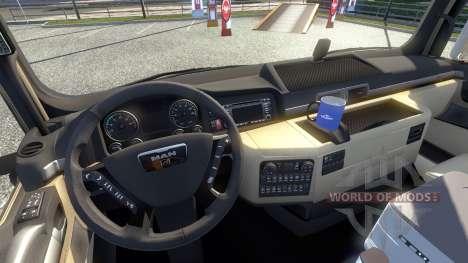Nuevo interior para el HOMBRE tagaca para Euro Truck Simulator 2
