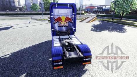 Color-Red Bull - camión Scania para Euro Truck Simulator 2