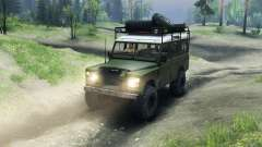 Land Rover Defender Series III v2.2 Olive