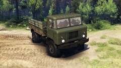 GAZ-66 camión :