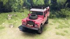 Land Rover Defender Series III v2.2 Red