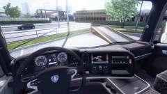 Interior para Scania-Cuero-