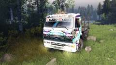 Color de Hatsune Miku Racing para KAMAZ-6520