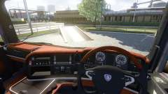 Interior para Scania-Madera-