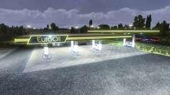 La estación de gas EuroOil