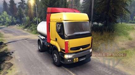 Renault Premium Yellow para Spin Tires