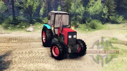 MTZ-1221 para Spin Tires