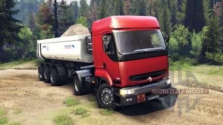 Renault Premium Red para Spin Tires