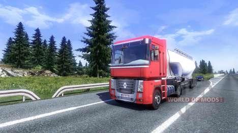 Más tráfico AI v2.0 para Euro Truck Simulator 2