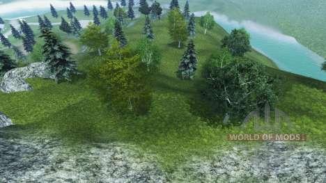 Nuevas texturas de los árboles y la hierba para Farming Simulator 2013