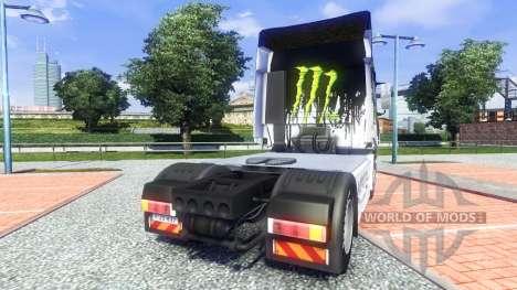 Color-Monster Energy - para Iveco camión para Euro Truck Simulator 2