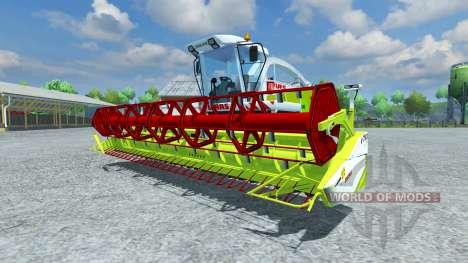 Cosechadora Claas Vario 750 para Farming Simulator 2013