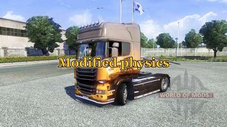 Modificación de la física [versión Final] para Euro Truck Simulator 2