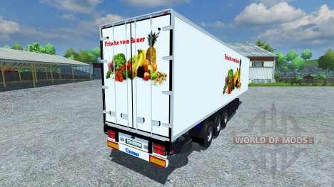 Semi-refrigerados KRONE Koffer Fresco Forro para Farming Simulator 2013