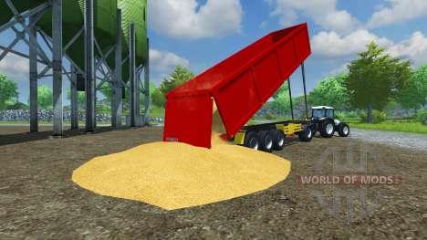El semirremolque Schmitz ESQUÍ 50 v2.0 para Farming Simulator 2013