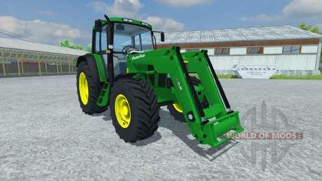 John Deere 6506 FL v2.5 para Farming Simulator 2013