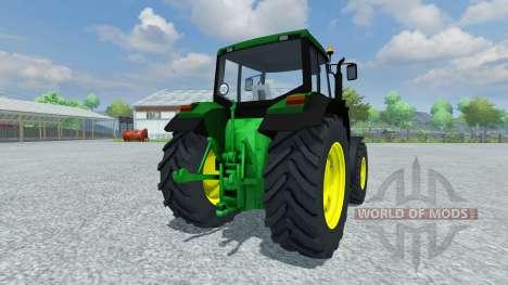 John Deere 6200 1996 para Farming Simulator 2013