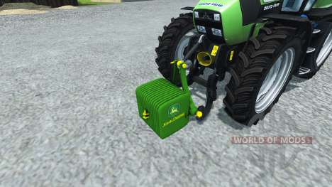 Contraste John Deere v1.1 para Farming Simulator 2013