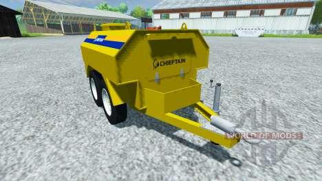 Remolque cisterna Cacique para Farming Simulator 2013