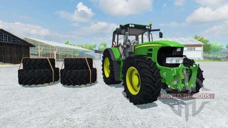 John Deere 7530 Premium v2.0 para Farming Simulator 2013