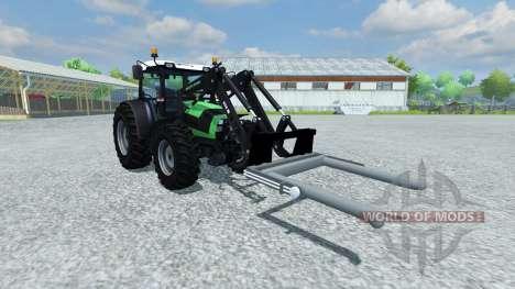 Horquillas para la carga de paca para Farming Simulator 2013