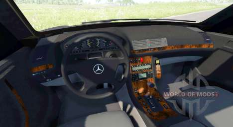 Mercedes-Benz E420 W124 tuning para BeamNG Drive
