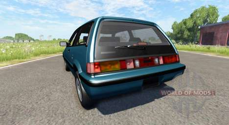 Honda Civic Si 1986 para BeamNG Drive