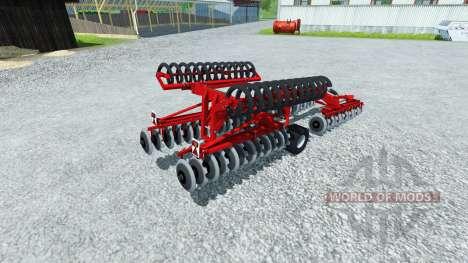 La grada de Vicon Discotiller 6.3 XR para Farming Simulator 2013